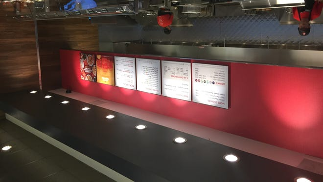 Panda Express has opened on Commercial Street, serving Chinese American dishes like broccoli beef and orange chicken.