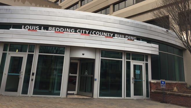 The Louis L. Redding City County Building houses the mayor's office.