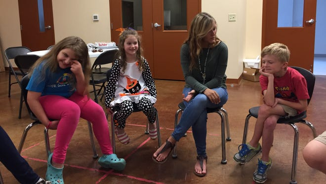 Siblings of children with intellectual and developmental disabilities spend time getting to know one another and talking about the challenges they face at The Arc Northwest Mississippi's Sibshops.