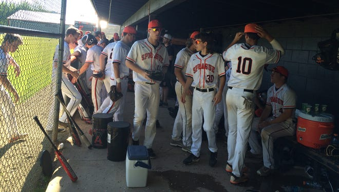 Sprague's baseball team lost its OSAA Class 6A state playoff game Monday to Lake Oswego.