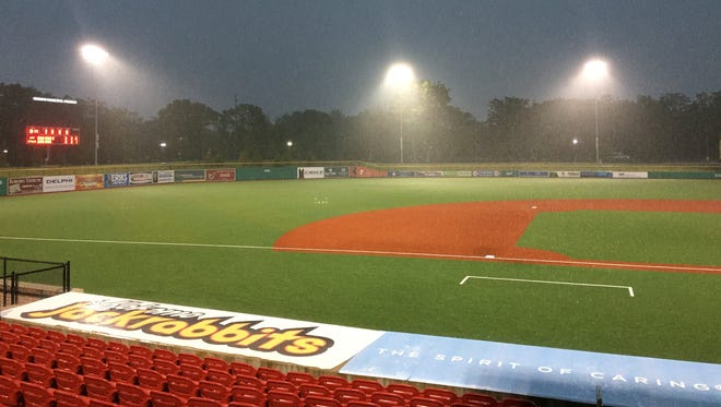 Rain has altered the schedule at Kokomo's Class 4A baseball sectional.