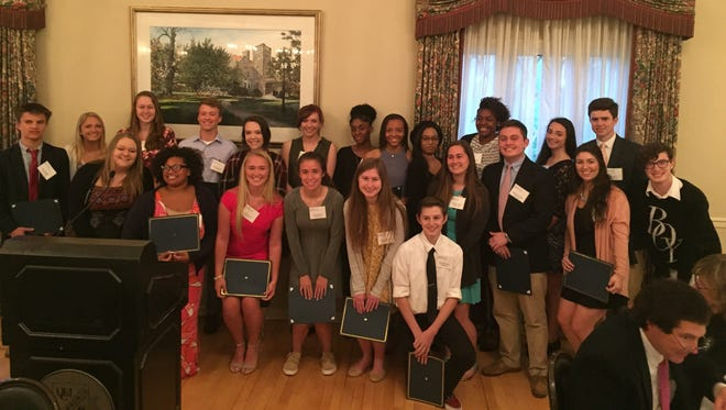 This year's New Castle County Youth Philanthropy Board awarded $15,000 in grants to eight nonprofits.