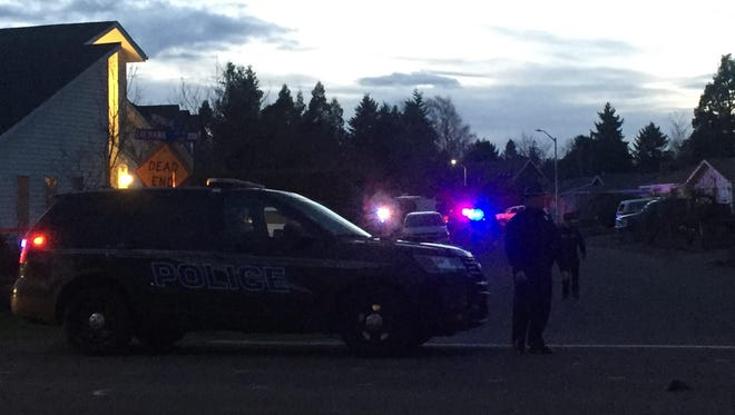 A Marion County grand jury on Friday found a Keizer police officer was justified in opening fire on an armed-robbery suspect earlier this month.