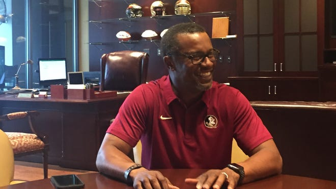 FSU coach Willie Taggart sat down with FSU beat writers Wayne McGahee III and Curt Weiler for an exclusive interview.