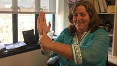 Stephanie Angel: For my 20 year anniversary at LSJ, I want to become a true Michigander