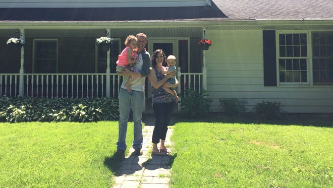 Ryan and Teresa Cirbus moved from Ross Corners in Vestal to Owego to make more room for themselves and their children, 4-year-old Annalee and 1-year-old Ethan.