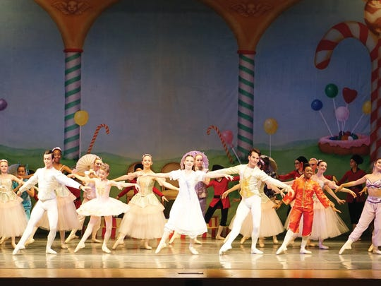 "Naples Ballet performs ""The Nutcracker"" in 2015."