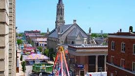 The annual Historic Mitchell Street Sun Fair has been canceled because of concerns over higher security costs coupled with a state-mandated funding cut for the fair's organizer.