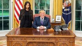 Kardashian West met with President Donald Trump at the White House to plea for clemency for 63-year-old Alice Marie Johnson, who was serving a life sentence on a non-violent drug offense.
