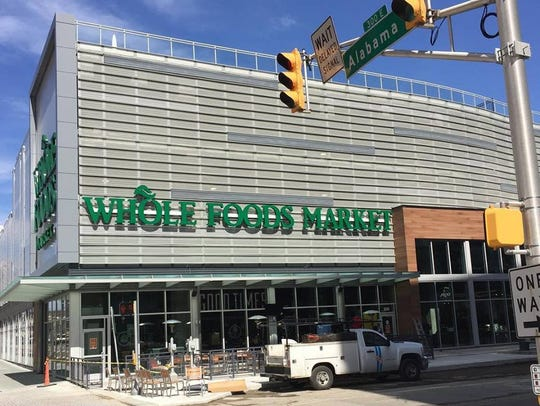 Whole Foods is set to open at 9 a.m. March 21 at 320