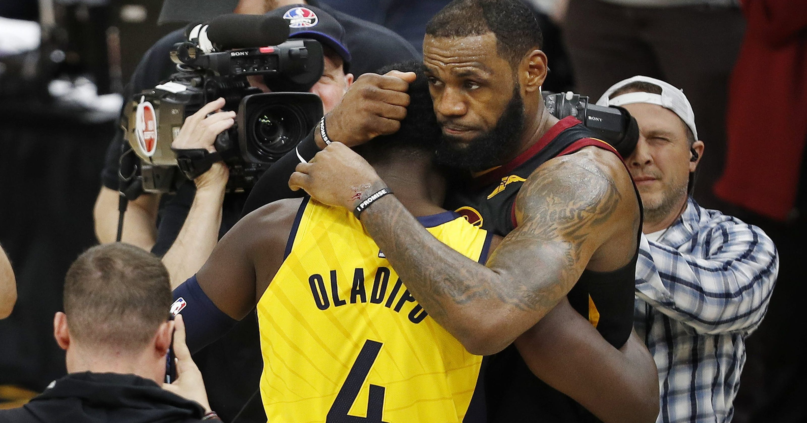 Victor Oladipo says he'll never get over LeBron's uncalled goaltending