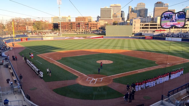Vanderbilt and Belmont faced off at First Tennessee Park Tuesday.