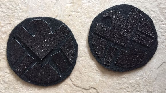 "Marvel's ""Agents of Shield"" patches"