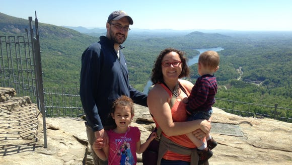 Fathers can get in free to Chimney Rock State Park