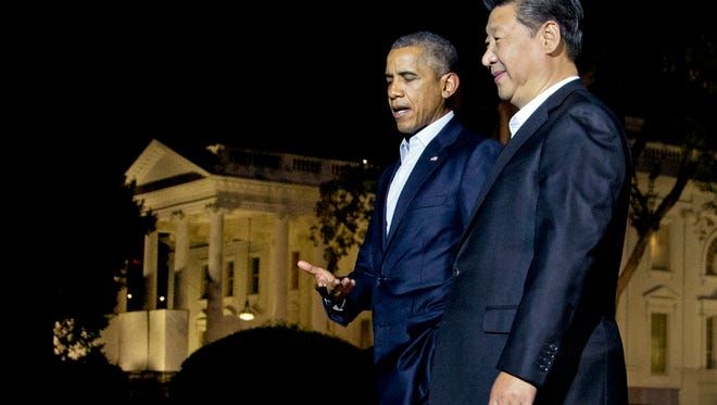 President Obama and Chinese President Xi Jinping.