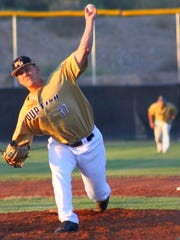 Billy Waltrip tallied 12 strikeouts to help the Pupfish defeat the Salina Stockade 10-5 on Thursday night at the Griggs Sports Complex.
