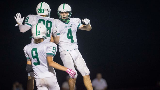 New Castle clinched its best season since at least 1985, when it went 5-5.