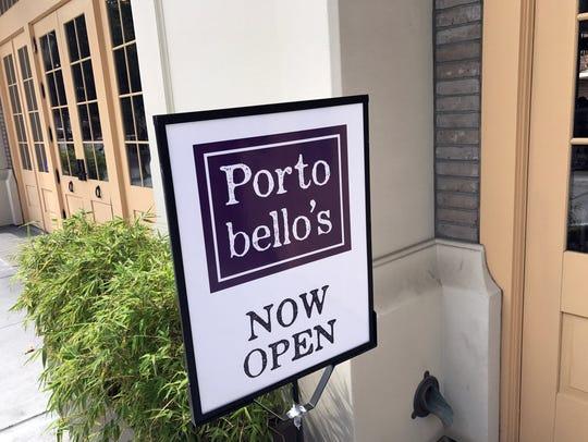 Portobello's, Salinas, Thursday, Sept.7, 2017