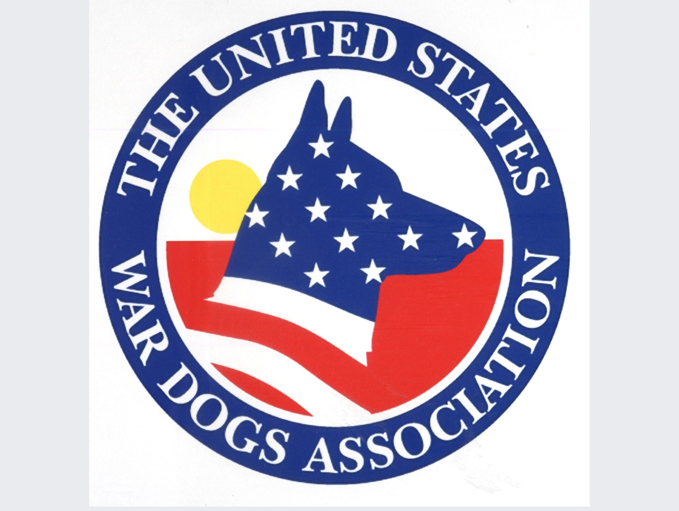 The U.S War Dogs Association logo