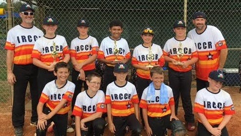 The Indian River County Cal Ripken 12 and Under All-Stars - nicknamed 'Team Savage' - are competing in the Southeast Region Babe Ruth tournament this week as the Florida state champions with a chance to advance to the World Series. Team members front from left are Kix Hofer, Raymond Gellner, JP Berryman, Michael Lauria, Justin Beams. Back from left, coach Mike Hofer, Jackson Kiefer, Dylan Redmon, RJ Collins, Malia Binafif, Dalton Jordan and coach Jason Redmon. Not pictured are coach Mike Kiefer, Jake Ernsberger, Anthony Celano and Joey Celano. Persons interested in helping fund the team can go to https://www.gofundme.com/irccr.