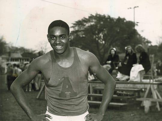 Johnny Wilson, Anderson, 1946 Indiana Mr. Basketball