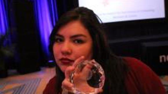 Chapin High School senior Rosa Gonzalez