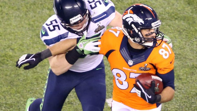 WR Eric Decker, who caught one pass in Super Bowl XLVIII, may not be a Bronco in 2014.