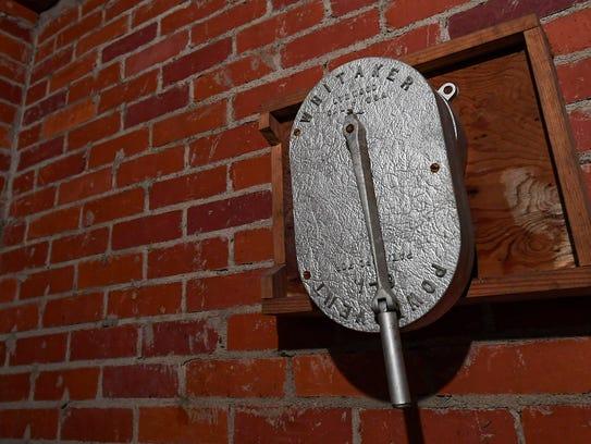 A hand cranked air ventilator, on Friday October 13,