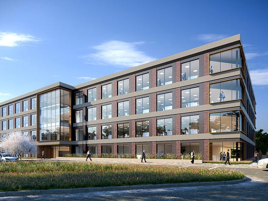 A rendering of Citi's new operations center in Sioux