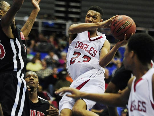 Former East Nashville star Thomas Booker committed to USC Upstate on Tuesday.