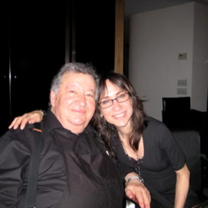 Susan Tobocman and her late father, Irving Tobocman