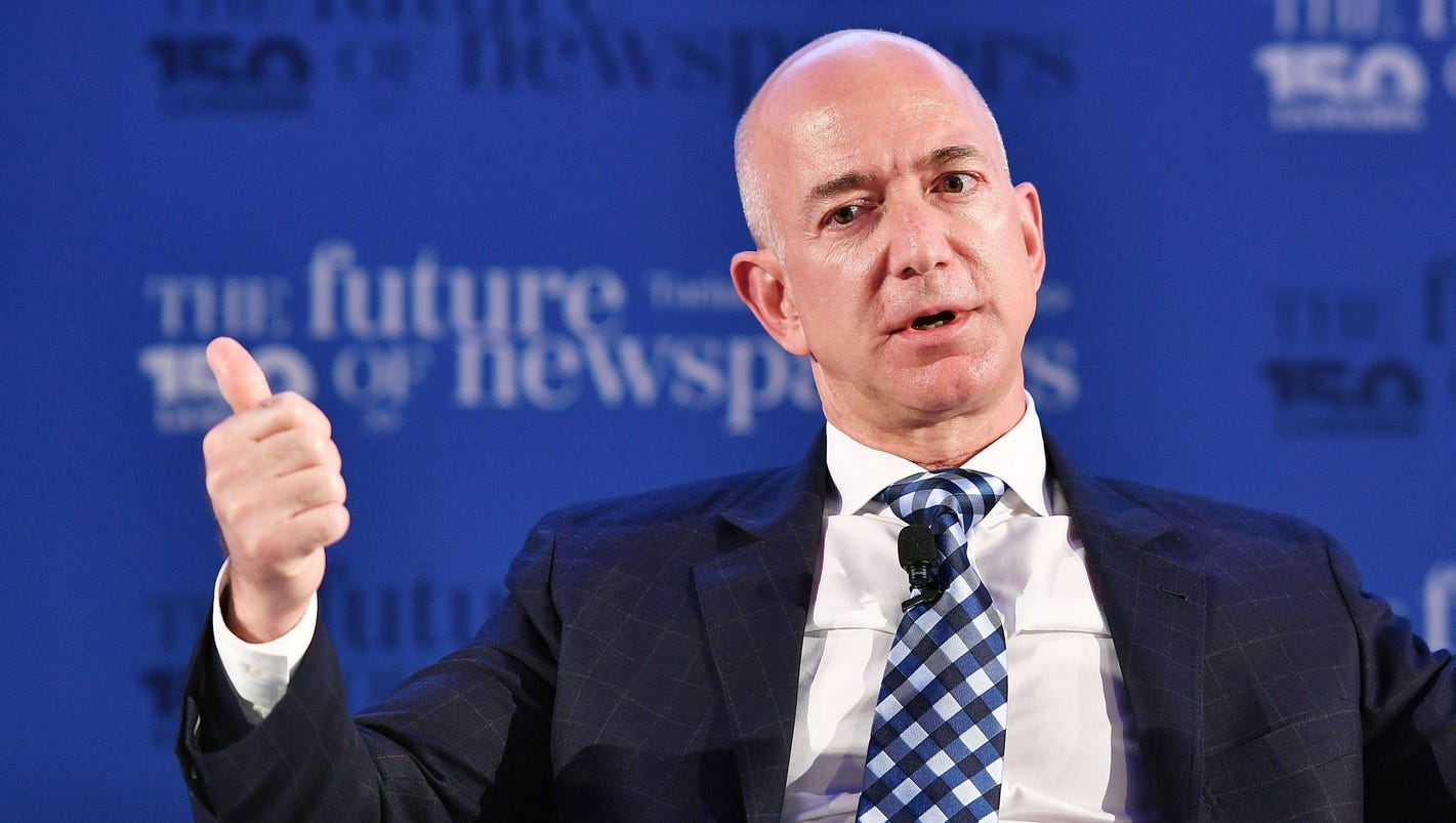 Top 10 wealthiest people in the world