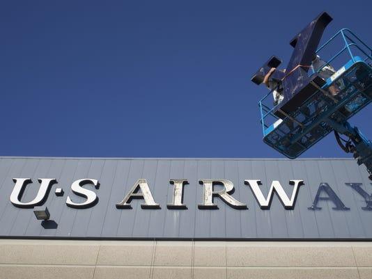 US Airways signage