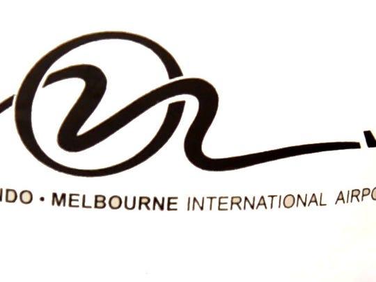 The logo for Orlando Melbourne International Airport