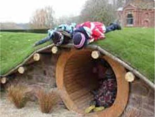 The Summit Park playscape will feature a hobbit hole