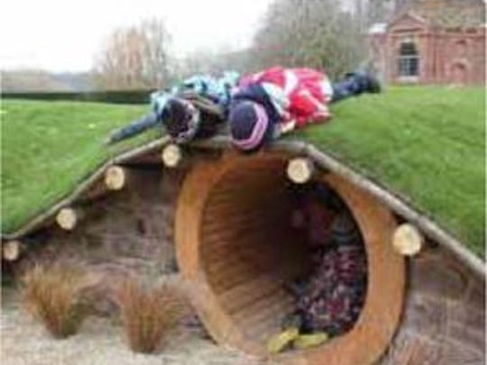 The Summit Park playscape will feature a hobbit hole for exploring.