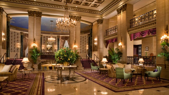 The Roosevelt Hotel, New York City is the most in demand