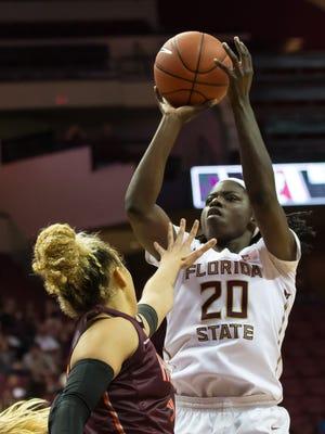 Shakayla Thomas has helped Florida State win eight straight games, averaging 17.5 PPG this season.