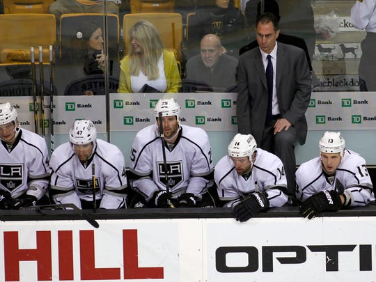 Kings assistant John Stevens