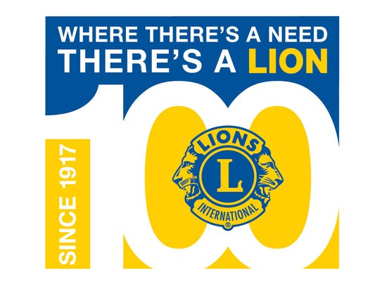 Lions Club International Centennial Celebration logo