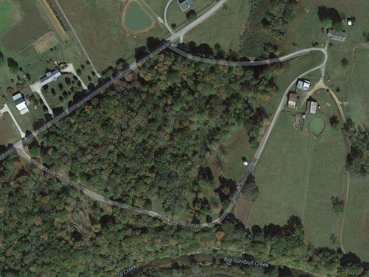 Mark Garton Road aerial pic