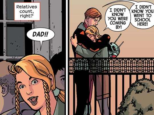 Scott Lang's daughter Cassie plays a major role in