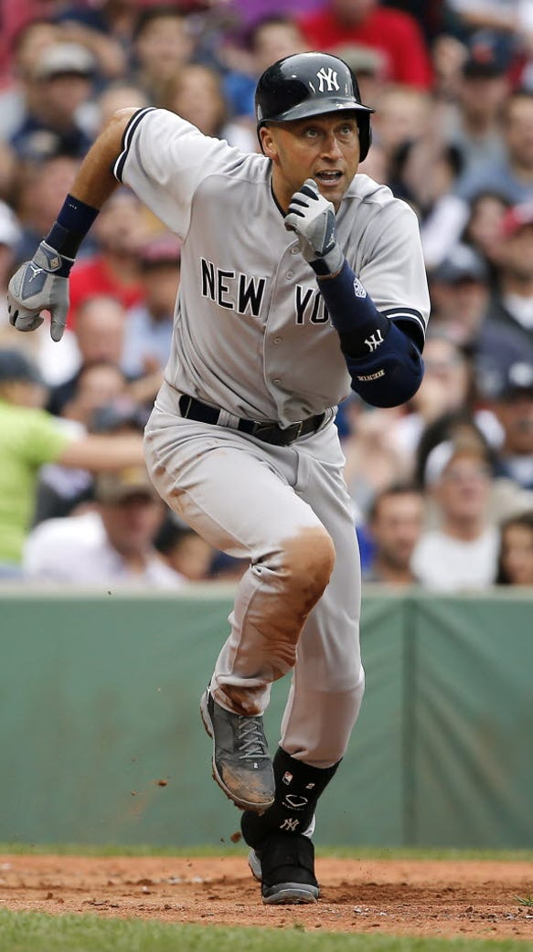 Jeter was known for his hustle during his long Yankees