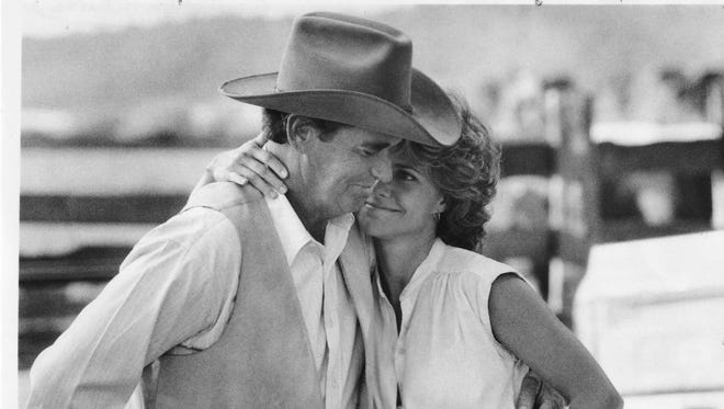 """(L-R) James Garner and Sally Field in a still from """"Murphy's Romance"""""""