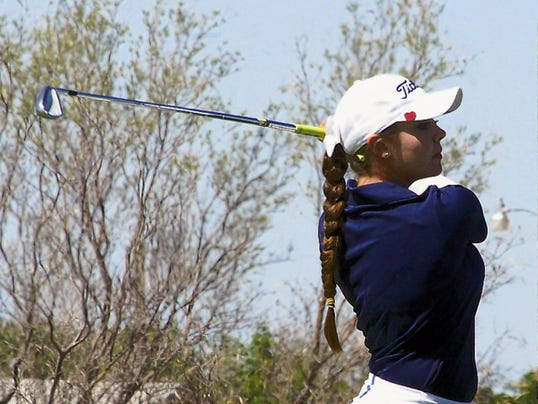Headlight File Photo   Senior Darian Zachek finished her Lady Cat golf career with five state championship rings and has committed to play golf at the University of New Mexico in Albuquerque in the fall.
