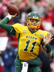 Carson Wentz was a star quarterback at North Dakota