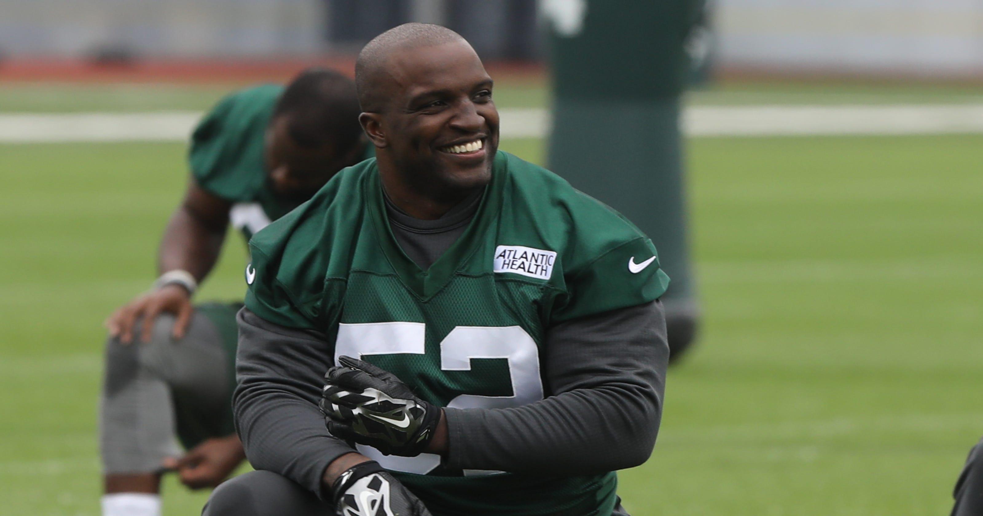0f9214d7527 Former NY Jets linebacker David Harris is retiring from NFL