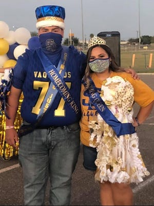 Jon Vera and Lexia Perez was crowned as the 2020 homecoming king and queen for San Diego High School.