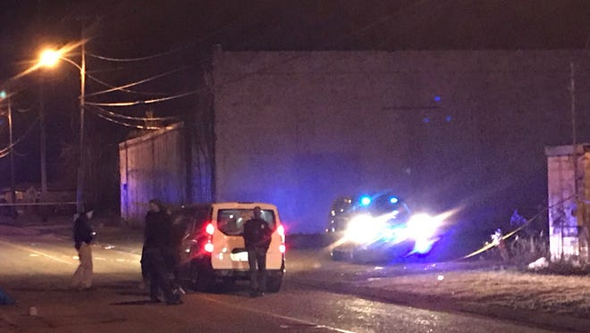 Hattiesburg police responded Tuesday night to reports of a body found on Seventh Street at Memphis Street.