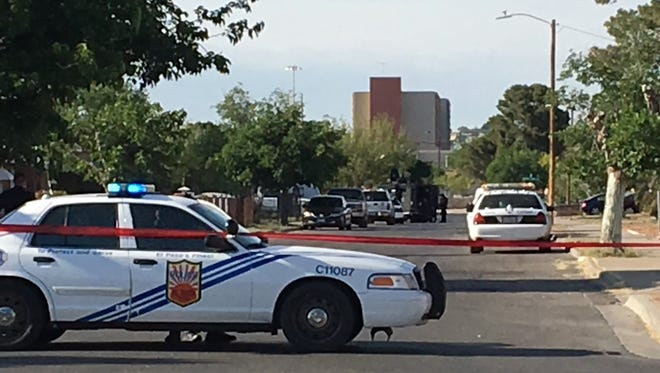 El Paso police are involved in a SWAT standoff Friday evening near Fox Plaza.